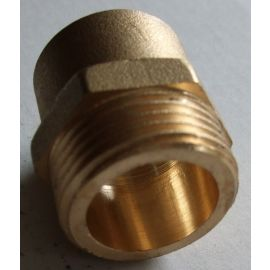 Lötfitting 28mm - 1 AG flachdichtend